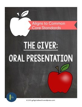 The Giver: Oral Presentation