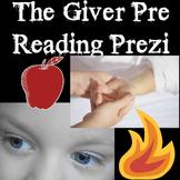 The Giver Pre Reading Prezi