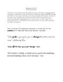 The Giver Quartet Potent Quotables Writing Activity