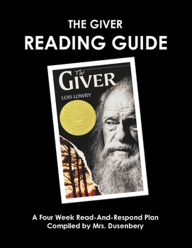 The Giver Read & Respond Guide