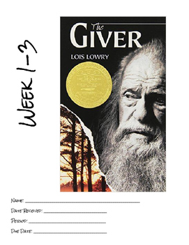 The Giver Reading Booklet: Chapters 9-11