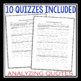 GIVER QUIZZES