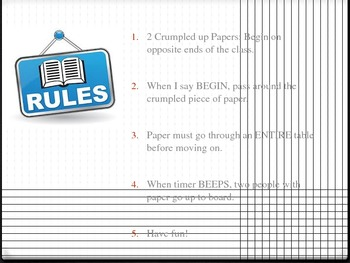 The Giver Ch 1-3 PowerPoint Game