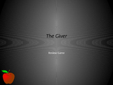 The Giver Review Game