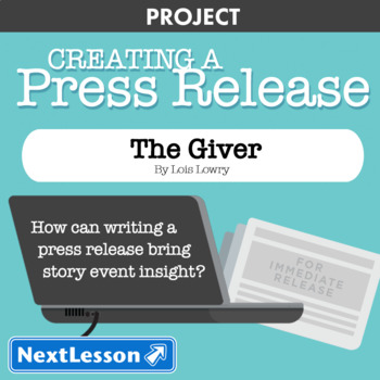 The Giver: Story Event Press Release - Projects & PBL