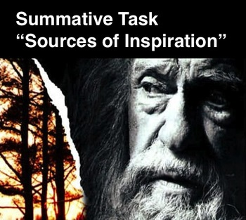 """GIVER - Summative Task - """"Sources of Inspiration"""""""