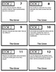 The Giver Task Cards