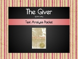 The Giver Text Analysis Packet