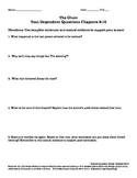 The Giver Text Dependent Questions Ch 9-10