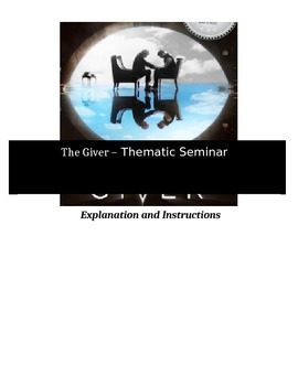Socratic Seminar - The Giver - Common Core Aligned