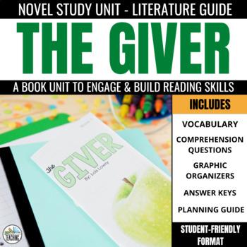 The Giver Foldable Novel Study Unit
