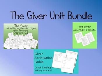 The Giver Unit Bundle