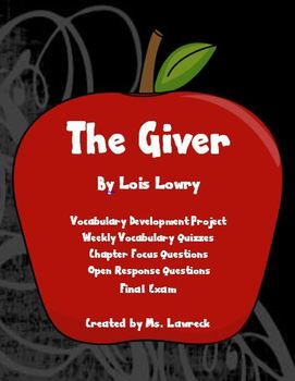 The Giver Unit Plan