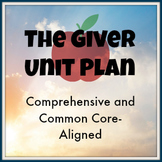 The Giver Unit Plan: Aligned to Common Core with a Focus on Argument Writing
