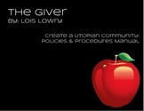 The Giver Utopian Society Project