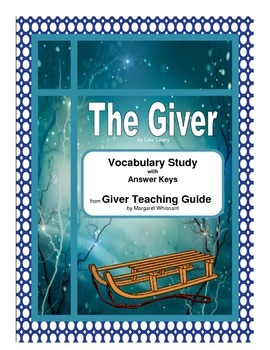 The Giver Vocabulary Study