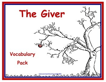 The Giver Vocabulary Pack