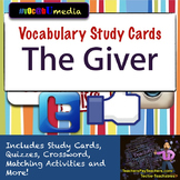 The Giver Vocabulary Study Cards