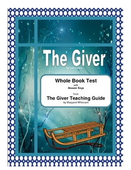 The Giver Whole Book Test