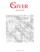 The Giver Word Search