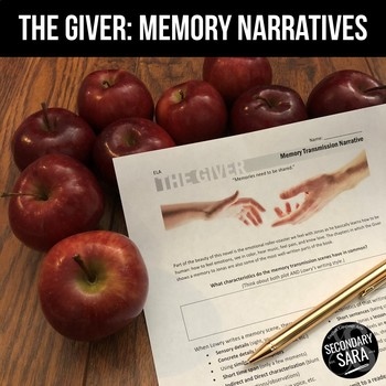 The Giver: Writing Memory Narratives to Jonas
