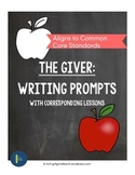 The Giver Cite Textual Evidence Writing Prompts