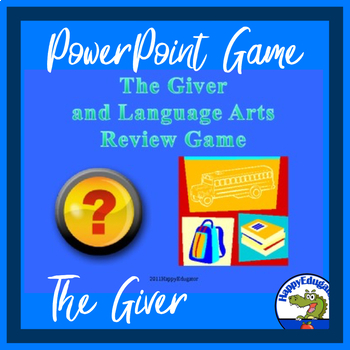 The Giver Language Arts Review Quiz Show PowerPoint Game