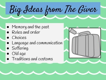 The Giver and Theme