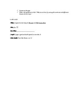The Giver and Truman Show Final Assessment (Word Doc)