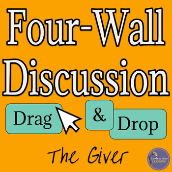 PreReading Discussion Activity for The Giver by Lois Lowry
