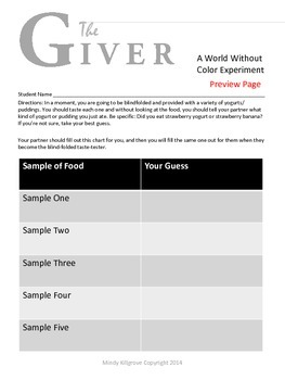 The Giver by Lois Lowry: Complete Study Unit: Everything You Need!