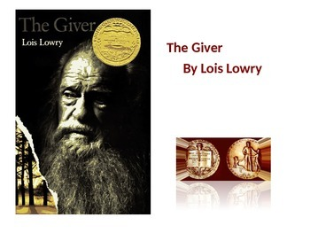 The Giver by Lois Lowry PowerPoint Presentation