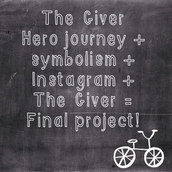 The Giver final project!