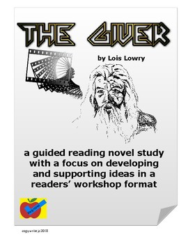 The Giver guided reading novel study