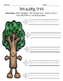 The Giving Tree Comprehension FREEBIE
