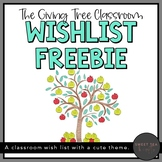 The Giving Tree - A Classroom Wishlist