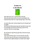 The Giving Tree Activities and Performance Based Tasks