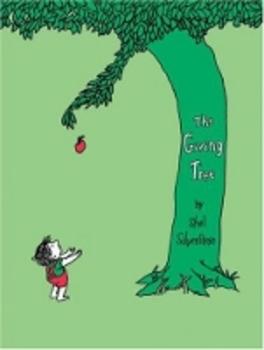 The Giving Tree Activity Idea Web