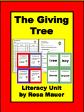 The Giving Tree Activities Literacy Unit