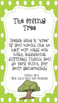The Giving Tree Classroom Donation Kit