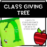 The Giving Tree- Classroom Supply Donations