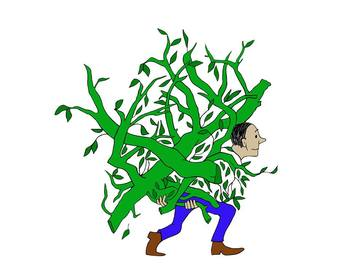 The Giving Tree Clip Art, Clipart Illustrations