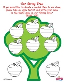 The Giving Tree Donation Chart: So Cute!  (Great for TK ,