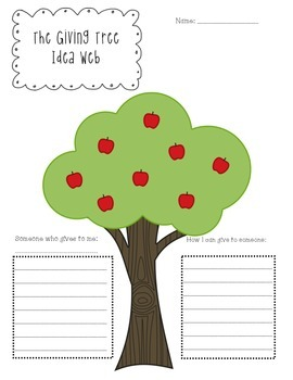 The Giving Tree Idea Web