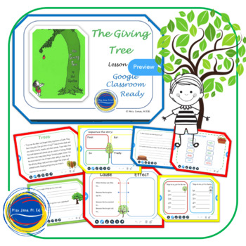 Dashing image within the giving tree printable worksheets