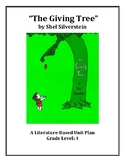 The Giving Tree- Literacy based Unit Plan Grade 4