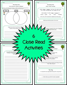The Giving Tree Literature Study - Grades 2 and 3