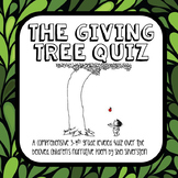The Giving Tree Quiz