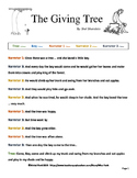 The Giving Tree Readers Theater Shel Silverstein