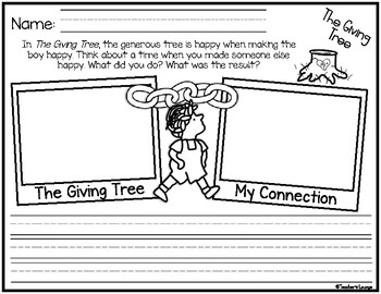 The Giving Tree  Reading Activities